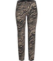 cambio dames broeken lange-broek zebra