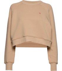 croppy sweat-shirt trui beige holzweiler