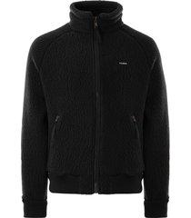 filson womens sherpa fleece jacket | black | 20119699-blk