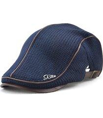 unisex berretto a maglia con fibbia regolabile da outdoors cappello da  newsboy bda58a5cb6d7