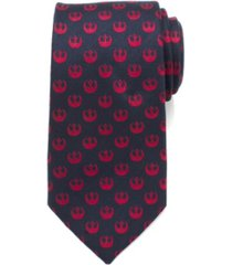 star wars rebel symbol men's tie