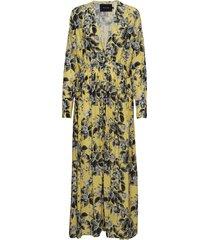 altona dress maxi dress galajurk geel raiine