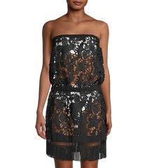 delphi lace coverup dress