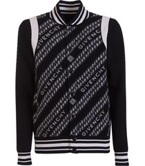 givenchy chain jacquard bomber