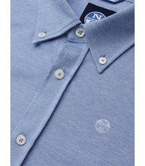 camicia in piquet di cotone