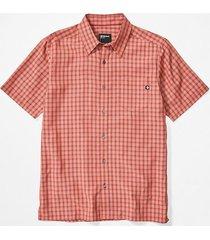 camisa elridge ss naranja marmot