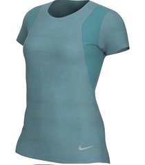 l-sueters nike w nk top ss-verde