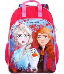mochila infantil de costas frozen ii grande