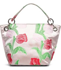 neat tulip bags top handle bags roze hvisk