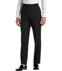 paisley & gray slim fit suit separates dress pants black & white houndstooth piping