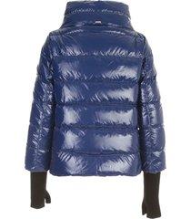 cape gloss padded jacket