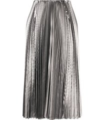 balenciaga pleated kick skirt