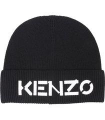 kenzo beanie with logo
