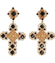dolce & gabbana croce earrings
