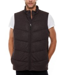 voyager quilted knit vest
