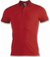 polo shirt korte mouw joma bali ii rood m/c poloshirt (100748-600)