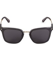 66mm injected square sunglasses