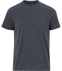 t-shirt jjminimal aop tee ss crew neck