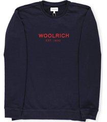 woolrich logo sweatshirt