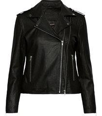 jacket leren jack leren jas zwart depeche