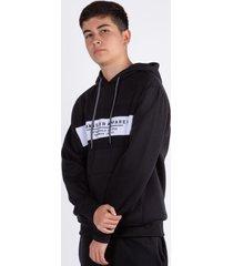 teen hoodie  canguro lab negro gangster