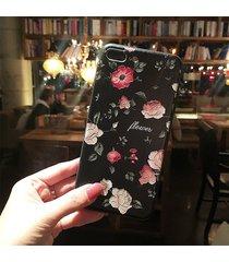 3d printing vintage flowers iphone case