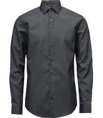poplin easy iron fit skjorta business svart calvin klein