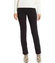 women's lysse high waist denim leggings, size x-large - black