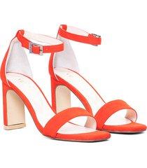 sandalia   roja vercal