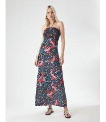 vestido nathaly longo zinzane feminino