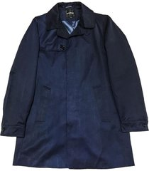 campera azul prototype nylon mac coat