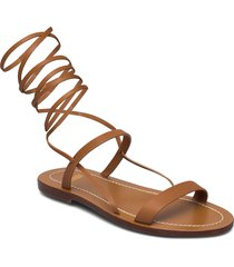 womens shoes shoes summer shoes flat sandals brun closed