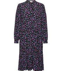 genia print dress knälång klänning multi/mönstrad modström