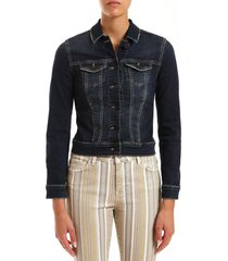 women's mavi jeans samantha distressed denim jacket