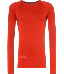 asics x kiko seamless long-sleeved t-shirt - orange