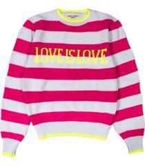 alberta ferretti love is love pullover