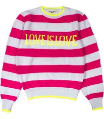 alberta ferretti love is love pullover