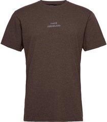 dusty thor emb t-shirts short-sleeved brun mads nørgaard