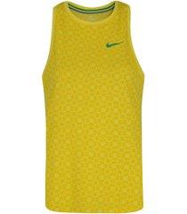 camiseta regata da seleção brasileira 2019 nike - feminina - amarelo