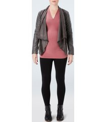 spanx plus-size mama maternity look at me now seamless leggings
