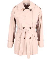 jovonna london giza polyester trench coat