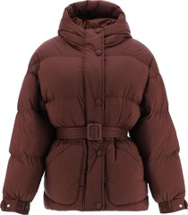 ienki ienki michlin belted down jacket