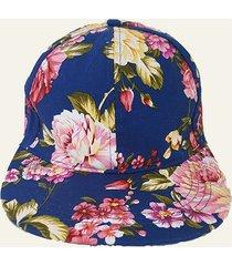 gorra azul nuevas historias floreada
