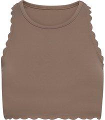 lou t-shirts & tops sleeveless beige mango