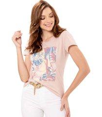 camiseta aloha rosa ragged pf51120568