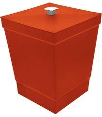 lixeira stolf suporte vermelho