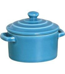 caçarola de cerâmica scalla azul 250ml