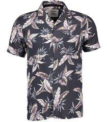 anerkjendt overhemd - slim fit - grij