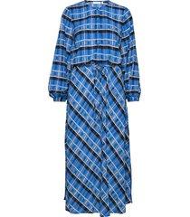 leigthoniw dress jurk knielengte blauw inwear