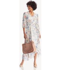 1. state women's cross frt tie waist paisley dress soft ecru size 8 from sole society